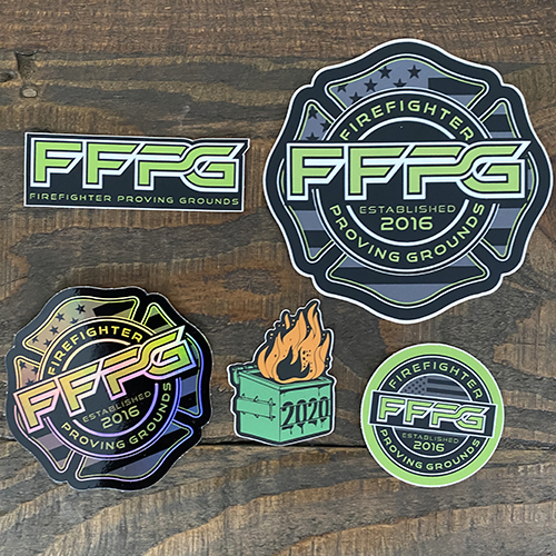 FFPG Limited Edition Sticker Pack