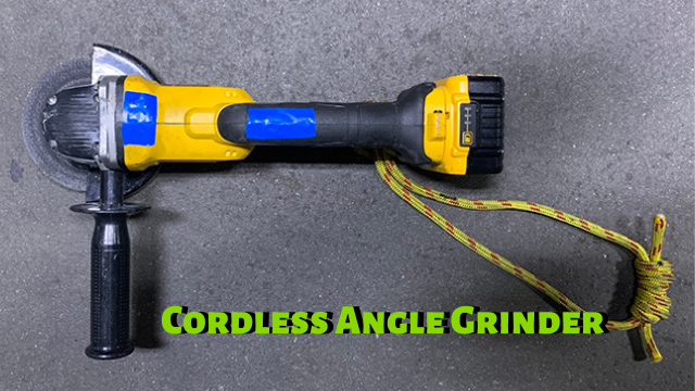 Tool Breakdown: Cordless Angle Grinder By: Top Floor Tactics & Urban Fire Training